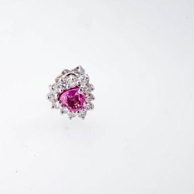 Orecchini Obhini Punto Rosa