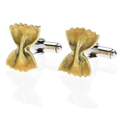 Gemelli Farfalla Pasta in Argento 925 e Smalti