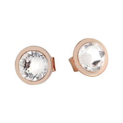 Earrings rosati lobe with crystal Swarovski crystal