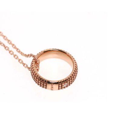 Damiani Collana Metropolitan in Oro Rosa e Diamante
