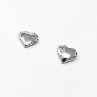 Orecchini Cuore con diamanti ct 0,02 G