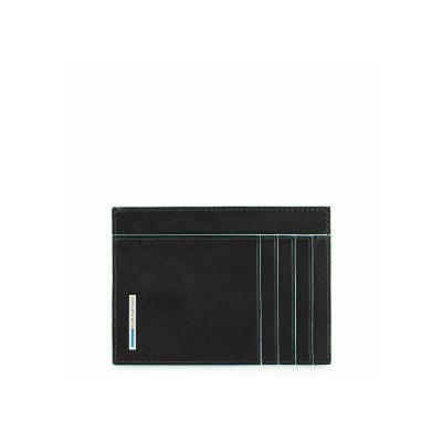 Piquadro porta carte di credito PP3892B2/N Blue Square