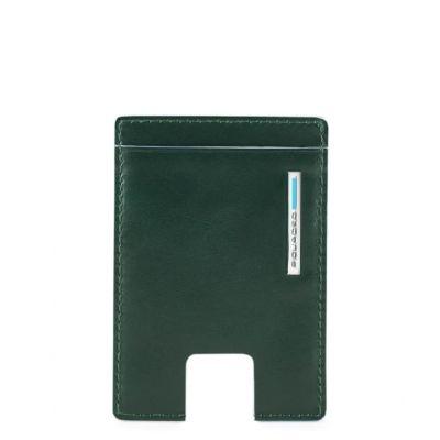 Piquadro porta carte di credito PP4768B2R/VE6 Blue Square