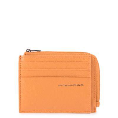 Piquadro porta carte di credito,porta monete PP4822EMR/AR Empire