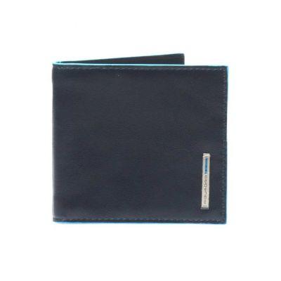 Piquadro portafogli uomo con molla PU1666B2/BLU2 Blue Square