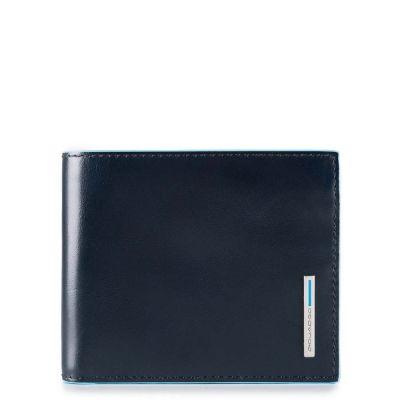 Piquadro portafogli uomo PU3891B2R/BLU2 Blue Square
