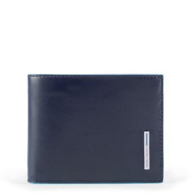 Piquadro portafogli uomo sottile PU4823B2R/BLU2 Blue Square