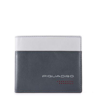 Piquadro portafoglio uomo con portamonete PU4823UB00R/GR Urban