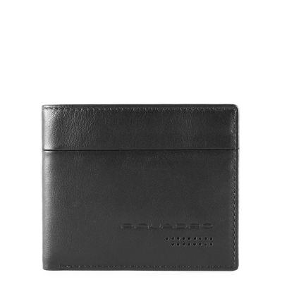 Piquadro portafogli uomo con portamonete PU4823UB00R/N Urban