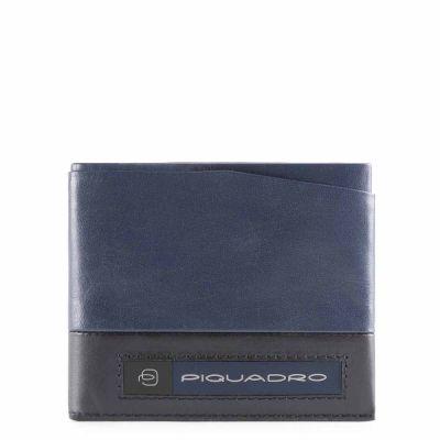 Piquadro portafoglio uomo PU5189W105R/BLU Febo