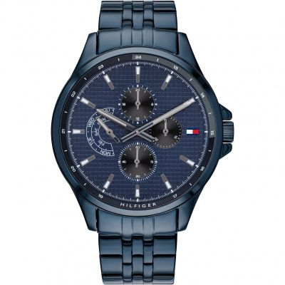 OROLOGIO UOMO ACCIAIO TOMMY HILFIGHER 1791618 ION-PLATED