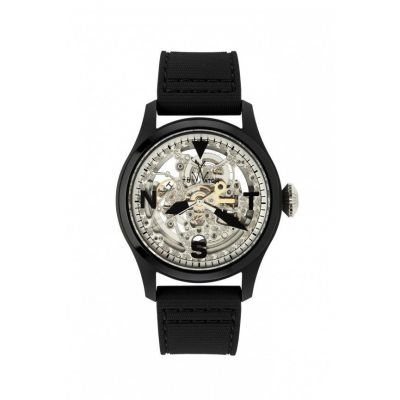 toyWatch TOY2FLY SKELETON BLACK AND SILVER