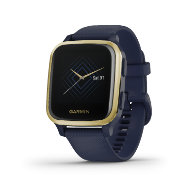 Garmin Venu® Sq Music Edition Navy Light Gold