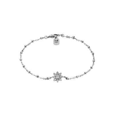 Bracciale Gucci Flora 18 carati con diamanti