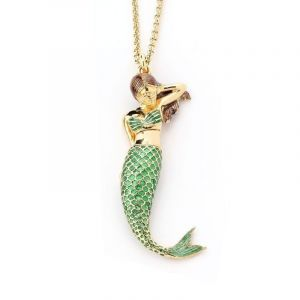 Le Sirene Necklace Green