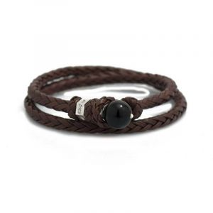 Scoubidou Bracelets Brown