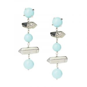 Earrings ice