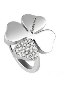 Salvini Anello Quadrifoglio Diamanti