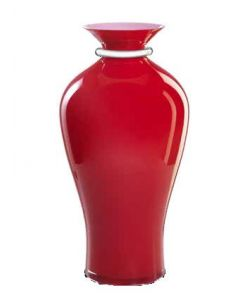 Dogale Venezia Vaso Cà Venier Rosso cm 42,50
