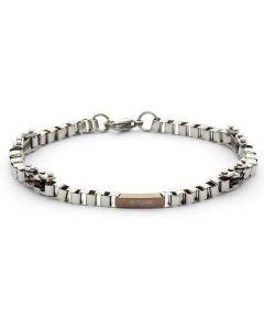 Steel Bracelet and PVD rosato