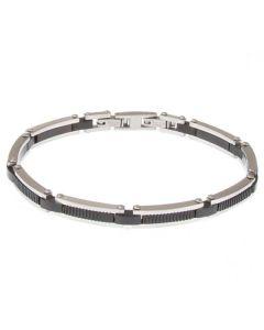 Modular Bracelet in PVD Black