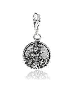 Charm Lanterna Genova in Argento 925