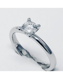 anello solitario ct 0,41 E VS1