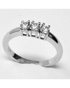 anello Trilogy Ct 0,31 E IF