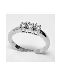 anello Trilogy Ct 0,33 D VVS1
