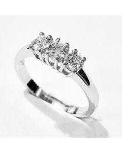 anello Trilogy 0,76 G VVS