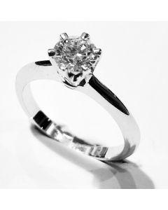 anello solitario ct 1,01 G VS2