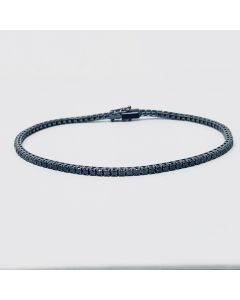 Maiocchi Milano Bracciale Tennis Diamanti Black ct. 1,60