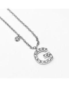 Girocollo Iniziale con Diamanti ct 0.25