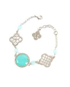 Bracelet with decorative motifs to cross