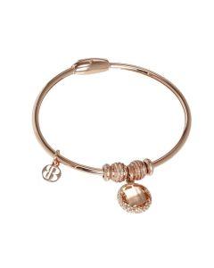 Bracelet with charm ini Crystal fishing