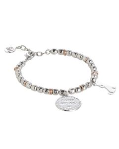 "Bracelet beads with pendant ""I love my dog"""