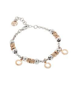 Bracelet beads with circles rosati