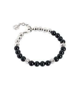 Bracelet with pearls of Onyx