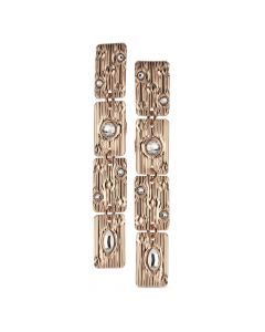 Modular earrings with Swarovski crystal