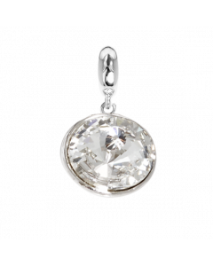Charm with crystal Swarovski crystal