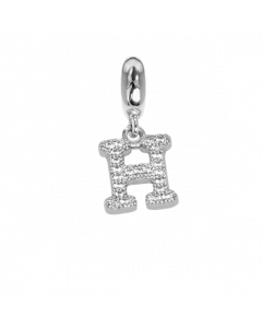 Charm with letter H in zircons