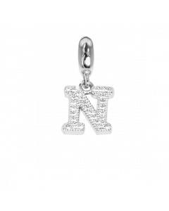 Charm with letter N in zircons