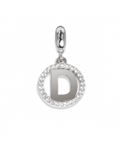 Circular charm in zircons with letter D