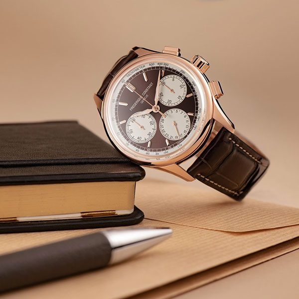 Frederique Constant. Flyback Chronograph Manufacture